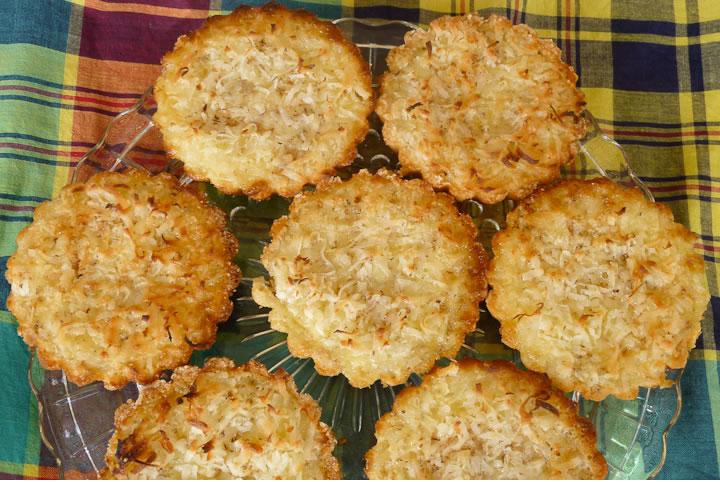 Coconut Custard Tart |
